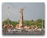 Бишкек: Статуя свободы