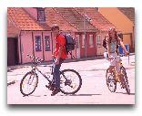 Остров Борнхольм: Велосипедисты