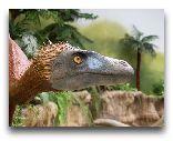 Остров Борнхольм: Динозавр - экспонат в местном музее