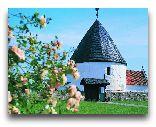 Остров Борнхольм: Круглые церкви