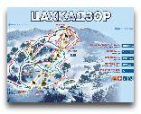 Цахкадзор: Карта лыжных трас