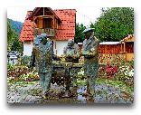 Дилиджан: Памятник героям фильма Мимино