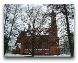Друскининкай: Костел города зимой.