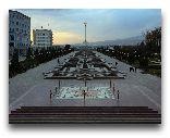 Душанбе: Площадь Исмала Самани