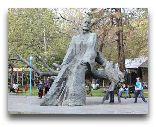 Ереван: Парк Еревана и статуя Комитас
