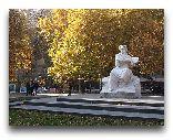 Ереван: Памятник художннику Мартиросу Сарьяну