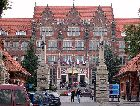 Гданьск: Главное здание Технического университета Гданьска