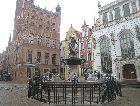 Гданьск: Фонтан Нептун