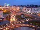 Гродно: Панорамма вечернего города