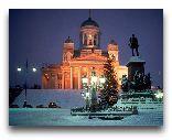 Хельсинки: Зимний город