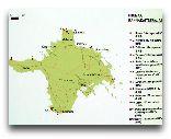 Остров Хийумаа: Карта острова