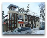 Юрмала: Улица Йомас зимой.