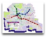 Харьков: Схема метро Харькова