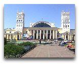Харьков: Железнодорожный вокзал в Харькове