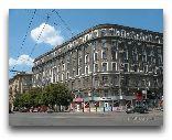 Харьков: Вид Дворца труда, выходящего на Площадь Розы Люксембург.