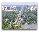 Киев: Наземный участок Святошинско-Броварской линии на левом берегу Днепра