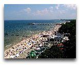 Колобжег: Лето, пляж