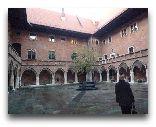 Краков: Внутренний двор Университета