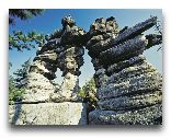 Кудова-Здруй: Скалы в Национальном парке