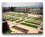 Ленкорань: Вид на площадь