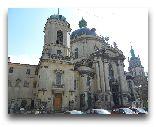 Львов: Доминиканский костел 17 в. Одно из величайших барочных сооружений Львова