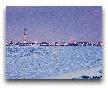 Мальмё: Зимняя панорама города