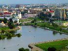 Минск: Вид на Троицкое предместье