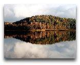 Район Молетай: Осенний пейзаж