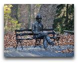 Наленчув: Скульптуры в парке