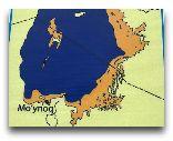 Нукус: Карта Аральского моря
