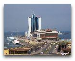 Одесса: Гостиница Одесса и Морской вокзал