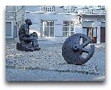 Одесса: Памятник Исааку Бабелю