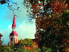 Пярну: Шпиль церкви Св. Елизаветы