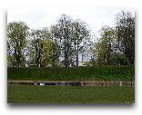 Пярну: Вид от замкового рва