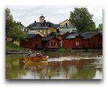 Порвоо: Дома на реке