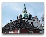 Порвоо: Крыши зданий церкви
