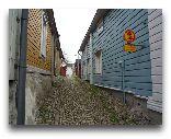 Порвоо: Узкие улицы старого города