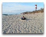 п. Лесное: Пляж