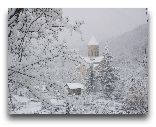 Рача: Церковь Баракони зимой