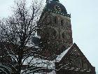 Рига: Домский собор зимой
