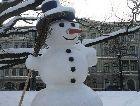 Рига: Парки Риги зимой