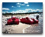 Рооста: Пляж