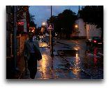 Остров Сааремаа: Вечерние улицы Курессааре