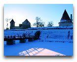Остров Сааремаа: Замок зимой