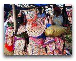 Сапа: Торговля тканью в городе Сапа
