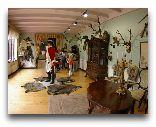 Саулкрасты: Интерьер музея Мюнхаузена