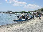 Севан: пляж