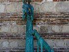 Сигнаги: Скульптура по картине Пиросмани