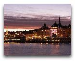 Стокгольм: Закат над городом