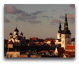 Таллинн: Вид на Старый город